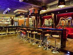 Подсветка интерьера Lounge Bar Barhat, (г.Уфа, ул. Цюрупы, 42)