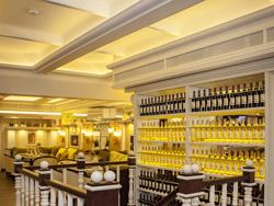 Интерьерная подсветка Wine bar Вино & Сыр (г.Уфа, ул. Чернышевского, 88)