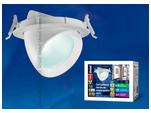 ULK-M01С-10W/NW WHITE Светодиодный точечный светильник СПОТ направленного света 10Вт 510Лм. Белый свет.