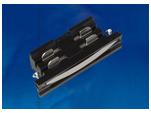 UBX-A11 BLACK 1 POLYBAG Соединитель для шинопроводов прямой внутренний. Трехфазный. Цвет — черный. Упаковка — полиэтиленовый пакет.