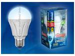 LED-A60-11W/NW/E27/FR/DIM PLP01WH Лампа светодиодная диммируемая. Форма A, матовая. Серия Palazzo. Белый свет.