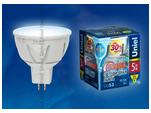 LED-JCDR-7W/NW/GU5.3/FR/DIM Диммируемая светодиодная лампа. Материал корпуса алюминий. Белый свет. Серия Palazzo. Упаковка пластик