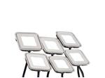 Набор KT-S-6x0.6W LED Day White 12V (квадрат) (ARL, IP67 Металл, 1 год)