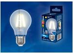 LED-A60-8W/WW/E27/FR PLS02WH Лампа светодиодная. Форма A, матовая. Серия Sky. Теплый белый свет.