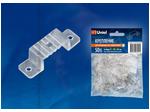 UCC-K14 CLEAR 050 POLYBAG Крепление для светодиодной ленты 220В 5050, 14-16 мм, цвет прозрачный, 50 штук в пакете