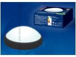 ULW-R03-8W/NW IP65 BLACK Круг. Светильник светодиодный влагозащищенный (пластиковый корпус). 8Вт, 560 Лм, 4500 К (белый свет), IP65, 220В. Цвет корпуса - черный....