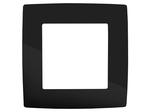 Рамка на 1 пост, чёрный, 12-5001-06