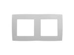 Рамка на 2 поста, белый, 12-5002-01