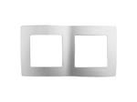 Рамка на 2 поста, алюминий, 12-5002-03