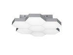 (MX13003032-7А) Люстра потолочная FAVO LED-35W 1680LM Silver 3000K (750072)