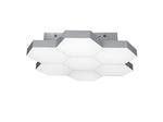 (MX13003032-7А) Люстра потолочная FAVO LED-35W 1680LM Silver 4000K (750074)