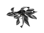 (MX6910-6A ) Люстра TURBIO 6х40W G9 MATT BLACK (754167)