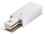 UBX-Q121 K01 WHITE 1 POLYBAG Ввод питания для шинопровода. Однофазный. Цвет — белый. Упаковка — полиэтиленовый пакет.