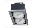 Светильник светодиодный PSP-S 112 2x9W 4000K 24° серый карданный IP40