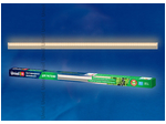 ULI-P10-18W/SPFR IP40 SILVER Светильник для растений светодиодный линейный, 560мм, выкл. на корпусе. Спектр для фотосинтеза.