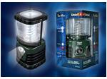 P-TL091-B Green Фонарь Uniel-offroad (Premium) «in full measure — 600 max», пластиковый корпус, 13 W Энергосберегающая лампа, упаковка — цветной короб, 6 х DDD н/к,...