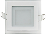 Встраиваемый потолочный светильник 6W 6400К Белый (HL684LG)