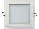 Встраиваемый потолочный светильник  12W 6400К Белый (HL685LG)