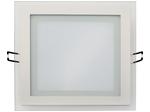 Встраиваемый потолочный светильник 15W 4200K Белый (HL686LG)