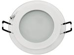 Светодиодный светильник встраиваемый 6W 4200К Белый (HL687LG)