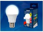 LED-A60 12W/NW/E27/FR PLP01WH Лампа светодиодная. Форма «А», матовая. Серия Яркая. Белый свет (4000K).