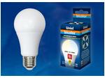 LED-A60-9W/WW+NW/E27/FR PLB01WH Лампа светодиодная. Форма «А», матовая. Серия Bicolor. Теплый белый свет - Белый свет.