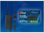 UET-VPP-060A20 Блок питания для светодиодов с вилкой, 60Вт, 12В, IP20