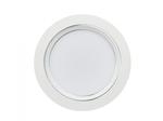 ULM-Q235 15W/NW WHITE Светильник светодиодный встраиваемый. Белый свет. Корпус белый с серебристой полосой.