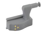 SB-401 Фонарь пушлайт-подсветка на петлю в кухонный шкаф [3SMD LED,  2xA23, бл]