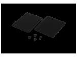 Заглушки для трека, черные, 2 шт/компл, ECS-SY-BL-2