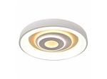 Потолочный светильник Modern LED Lamellar L470*W470*H90 1*LED*120W, 3800LM, 3000-6000K, included, remote control (2461-5C)