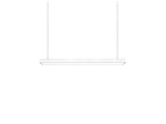 Светодиодный светильник Geniled Trade Linear Standart 1000х100х65 20Вт 5000К Опал