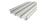 Профиль накладной алюминиевый тройной LC-LPV-0956-2 Anod