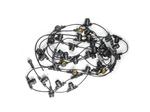 UDL-K111 80-E27-20M IP65 BLACK BELT-LIGHT Гирлянда Белт-Лайт. 20м + 1.5м сетевой шнур. 80 патронов E27. шаг 25см. Чёрная