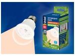 LED-A60-10W/SPFR/E27/CL PLP01WH Лампа светодиодная для растений. Форма A, прозрачная колба.