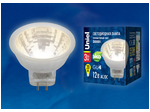 LED-MR11-3W/WW/GU4 GLZ21TR Лампа светодиодная, 12V. Прозрачная. Теплый белый свет (3000K).
