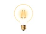 LED-G95-6W/GOLDEN/E27 GLV21GO Лампа светодиодная Vintage. Форма «шар», золотистая колба.