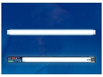 ULO-CL120-40W/DW SILVER Светодиодный ЛПО светильник накладной 2х36. 6500K. Корпус серебристый
