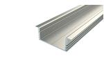 Профиль для светодиодной ленты врезной широкий алюминиевый LC-LPV-1234-2 Anod