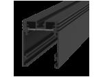 Трек SY низковольтный универсальный без провода питания, черный SY-601201-2-BL, 2м