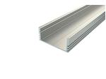 Профиль для светодиодной ленты накладной широкий алюминиевый LC-LP-1228-2 Anod