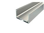 Профиль накладной алюминиевый LC-LP-3250-2 Anod