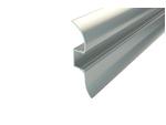 Светодиодный Профиль для ленты плинтус LC-LPL-1650-2 Anod