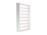 Светодиодный офисный светильник Geniled Автономный Грильято 80Вт 5000K Матовое закаленное стекло БАП1.4