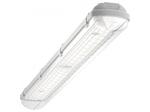 Светодиодный светильник Geniled Автономный ЛСП 2х36 влагозащищенный 80Вт 5000K Прозрачный БАП1.4