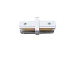 UBX-Q122 G11 WHITE 1 POLYBAG Соединитель для 2-х шинопроводов типа G, прямой внутренний. Однофазный. Белый.