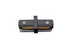 UBX-Q122 G11 BLACK 1 POLYBAG Соединитель для 2-х шинопроводов типа G, прямой внутренний. Однофазный. Черный.