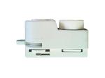 UBX-Q122 G61 WHITE 1 POLYBAG Адаптер для однофазного шинопровода. Белый.
