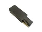 UBX-Q122 G01 BLACK 1 POLYBAG Ввод питания для шинопровода типа G. Однофазный. Черный.