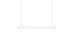 Светильник линейный светодиодный Geniled Trade Linear 500х100х65 30Вт 5000K Опал поликарбонат Черный
